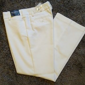 New York & company, women's pants, white size 12